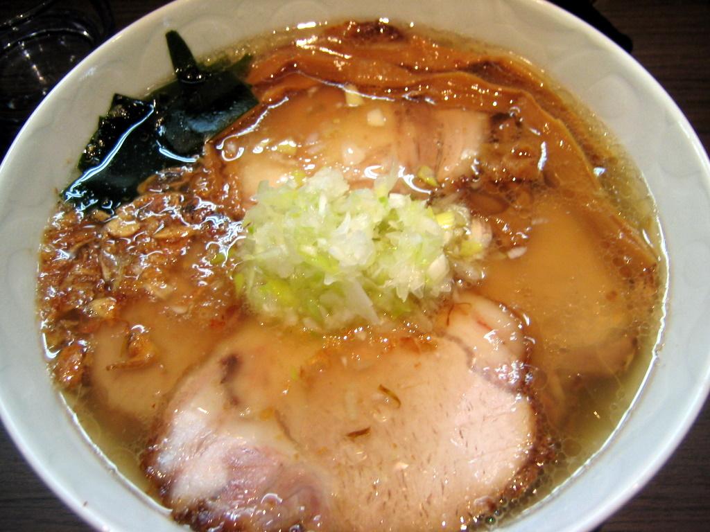塩金華豚チャーシュー麺