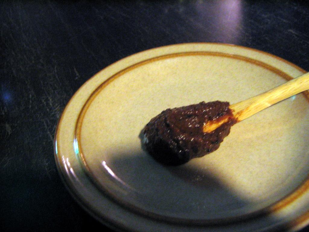 チョコ味噌