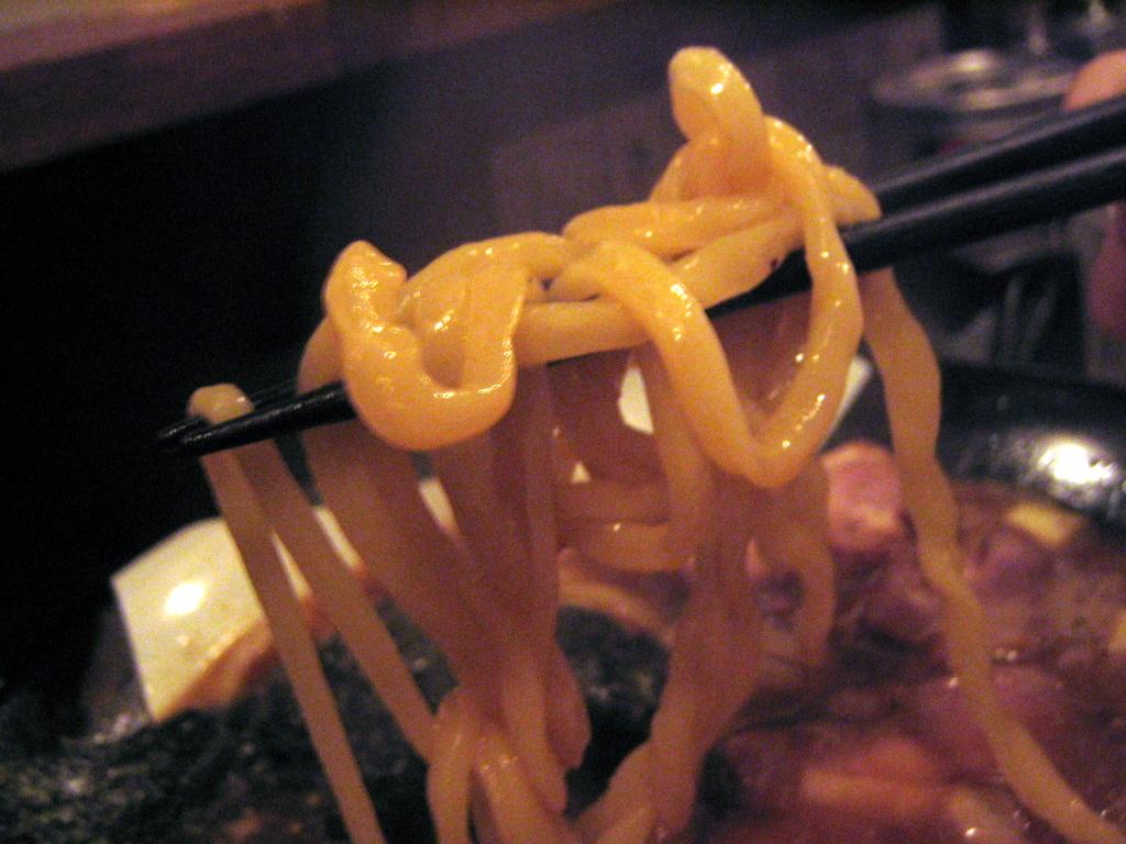 ノーマル麺