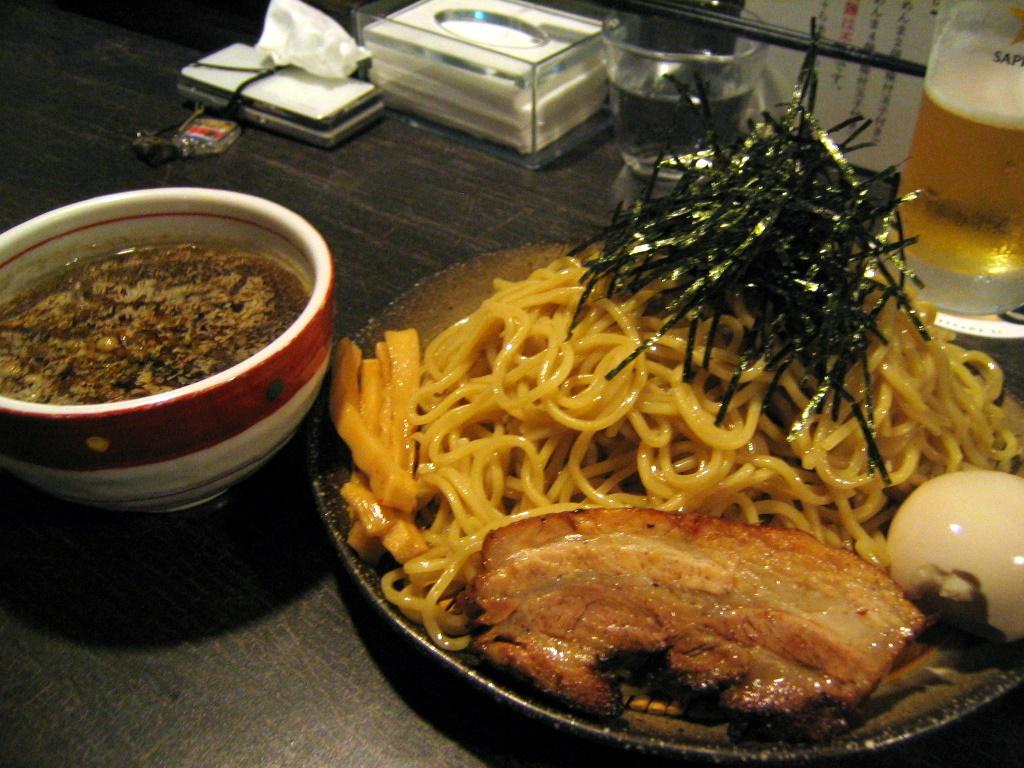 煮干し醤油つけ麺