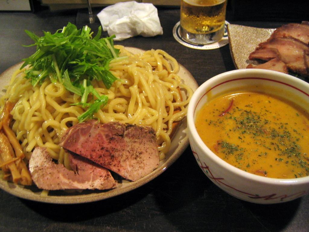 トマトと南瓜のシーサイドクーラーつけ麺