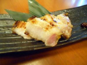 三元豚の西京焼き