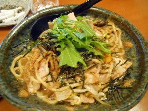 焼きタン麺