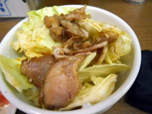 キャベチャー丼