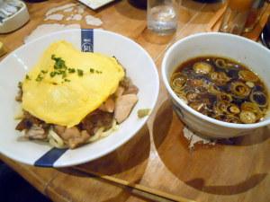炭火鶏つけ麺