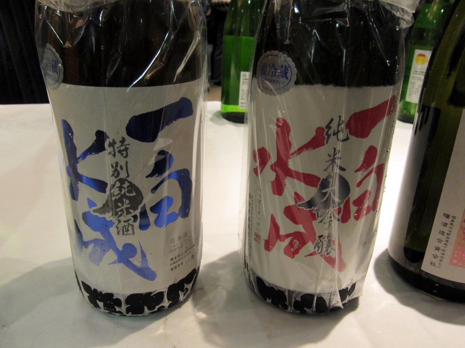 純米大吟醸と特別純米酒