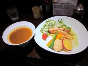 カレーつけ麺(太)