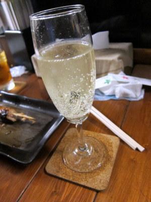 シャンパン?