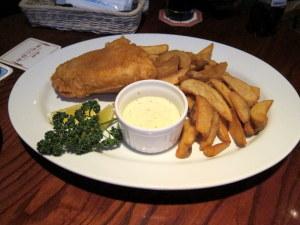 ポテトと白身魚