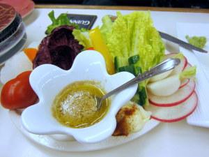 バーニャカウダのサラダ