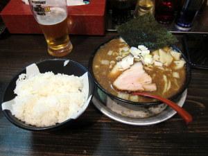煮干しラーメン&飯ッ!