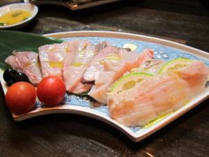 魚生ハム6点盛り