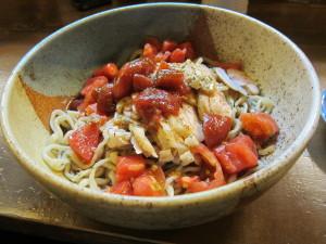 冷やしトマト麺
