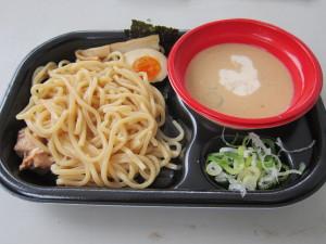炎の味噌&白麻婆つけ麺