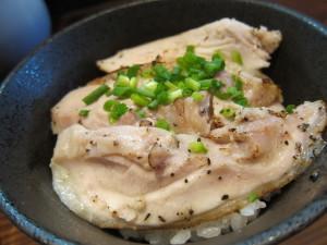 阿波尾鶏の塩炙り丼