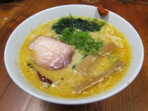 貝出汁と海苔の味噌らぁ麺