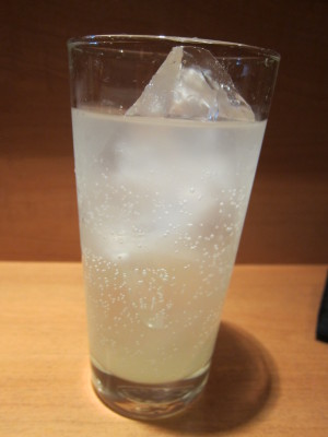 塩レモンテキーラソーダ