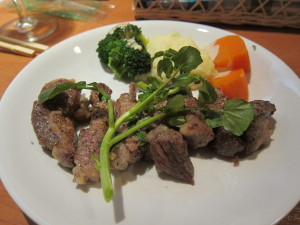 最高級ベジョータのイベリコ豚のステーキ